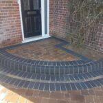 Berkshire block paved steps
