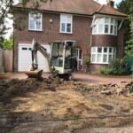 removing old driveway Berkshire