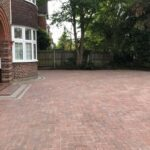 Berkshire completed block paving