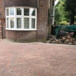 completed block paved drive Berkshire