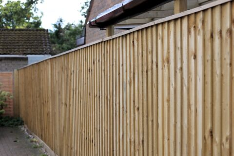 Wooden Fencing in Berkshire