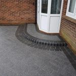 dark block paved steps Berkshire