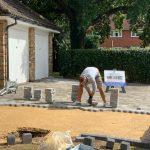 fitting a block paved driveway Berkshire