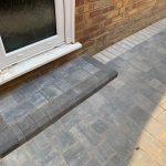 grey block paved step Berkshire