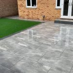 New patio and artificial turf in Berkshire